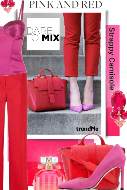 Dare to Mix Pink and Red Trend