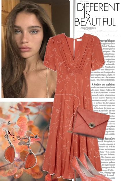 Different is Beautiful in Burnt Orange
