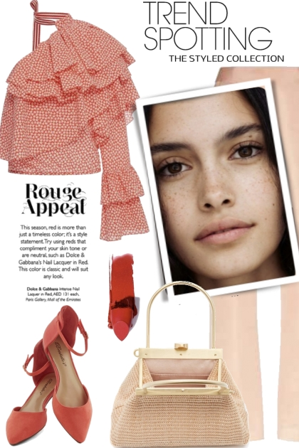 Trend Spotting Rouge Appeal