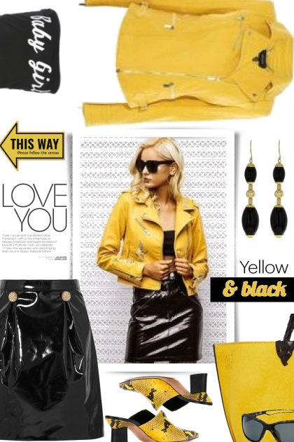 Dare to Mix Yellow and Black