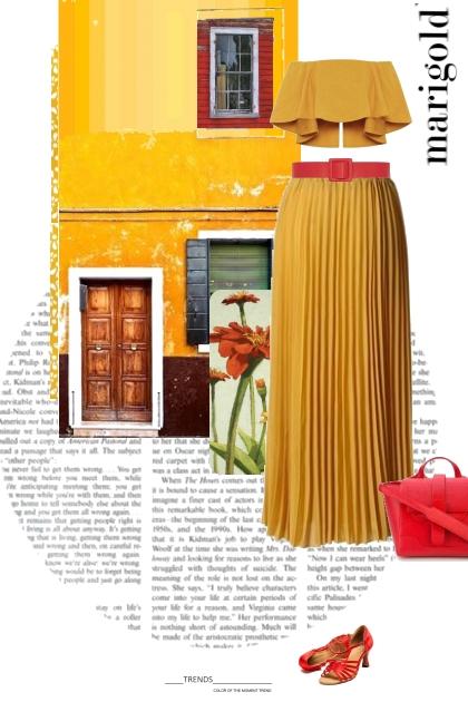 Marigold Pantone Color Trend