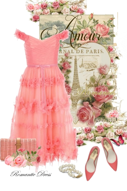 Romantic Dress Amour