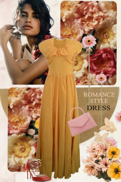 Romantic Style Dress