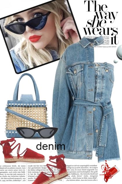 The Way She Wears It...Denim