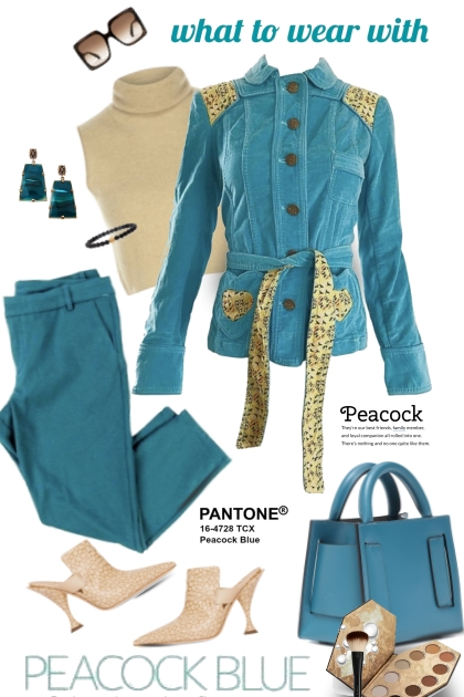 What to Wear with Peacock Blue