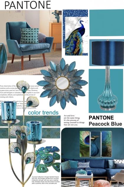 Pantone Color trends...Peacock Blue