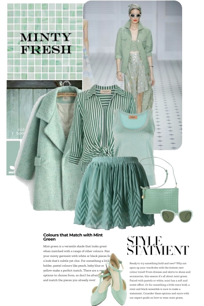 Minty Fresh Style Statement