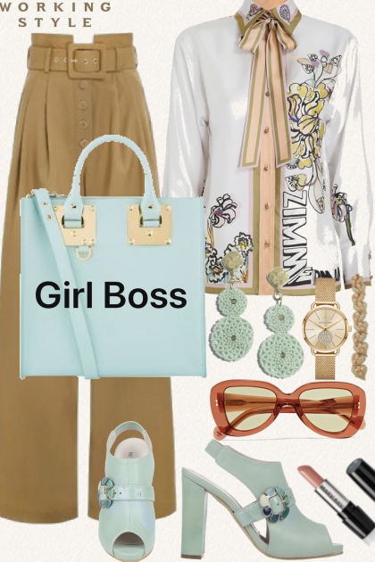 Working Style Girl Boss