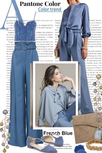 Pantone French Blue