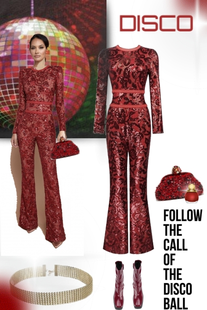 DISCO IN RED