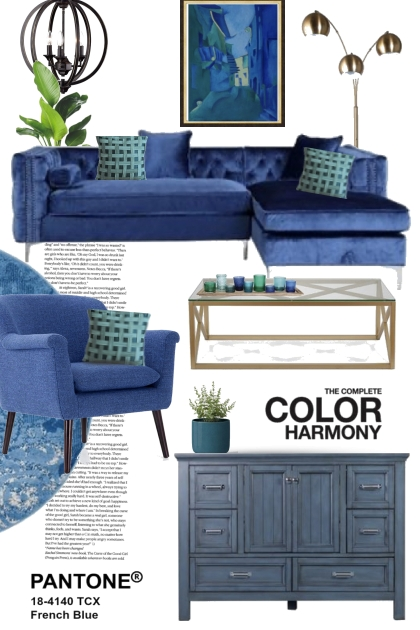 The Complete Color Harmony French Blue