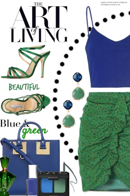 The Art of Living in Blue and Green