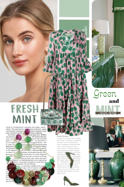 FRESH MINT AND GREEN