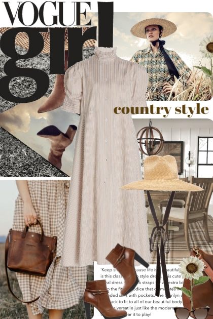 Vogue Girl Country Style