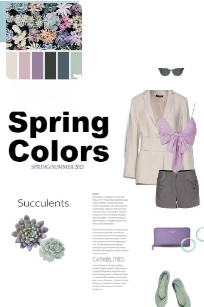 Spring Colors ... Succulents