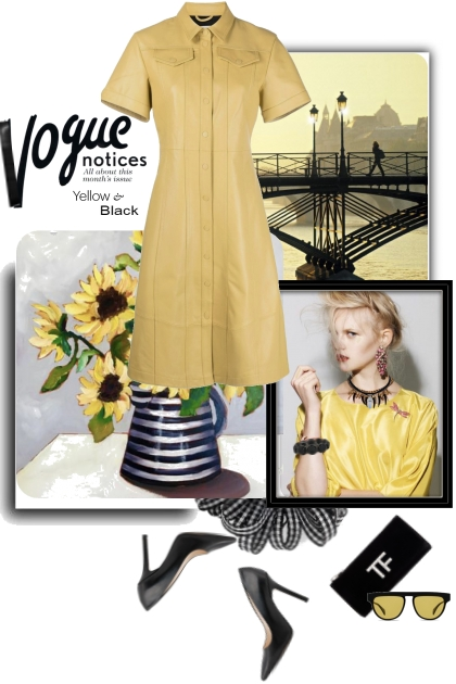 Vogue Notices Yellow and Black