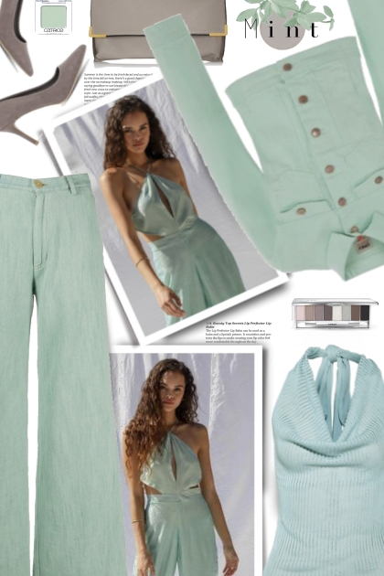 Mint and Gray Delight
