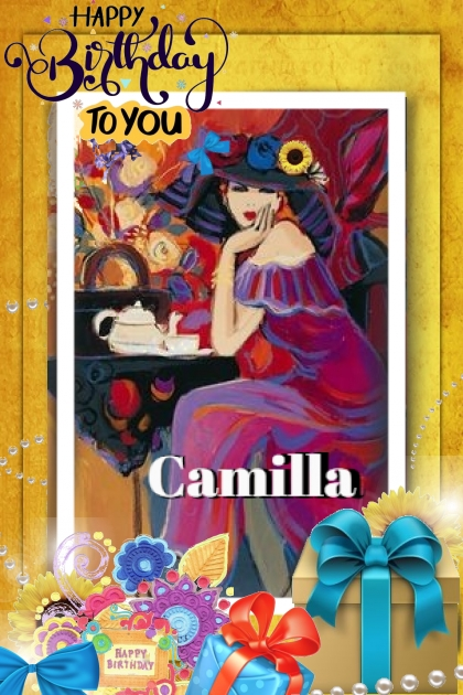 Happy Birthday Camilla
