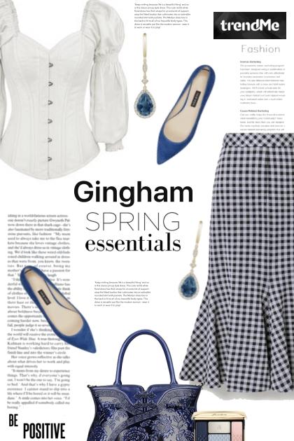 Gingham Spring Essentials