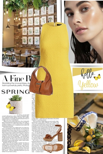 A Fine Spring in Yellow