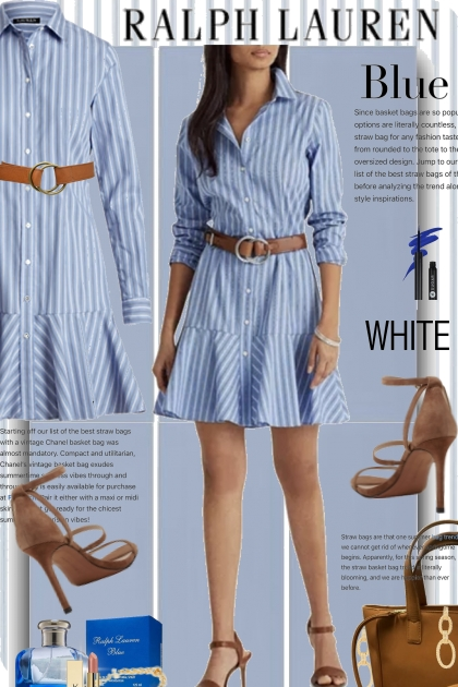 Ralph Lauren in Blue and White