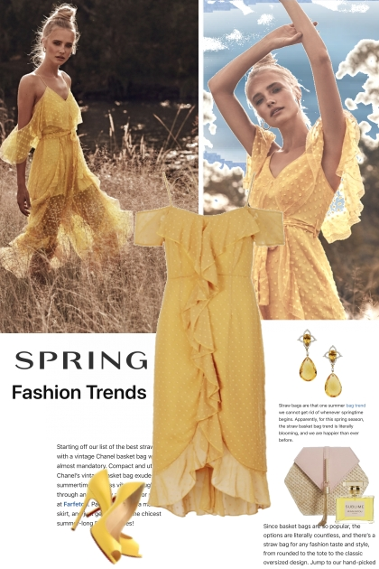 SPRING FASHION TRENDS