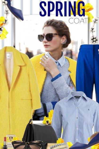 Spring Yellow Coat
