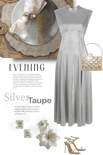Evening in Silver