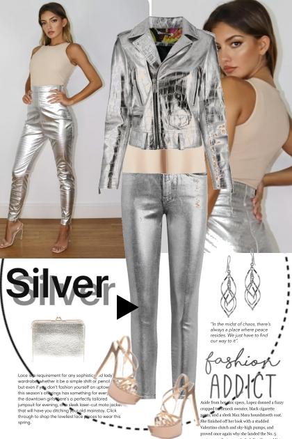 Silver Fashion Addict