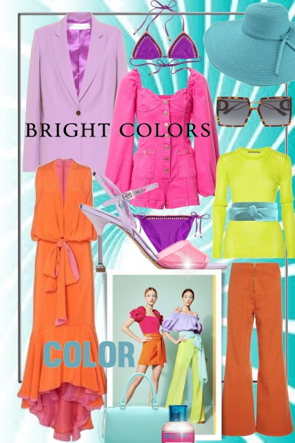 Bright Color Trends