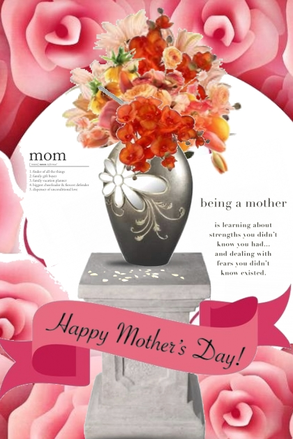 Happy Mothers Day Vase