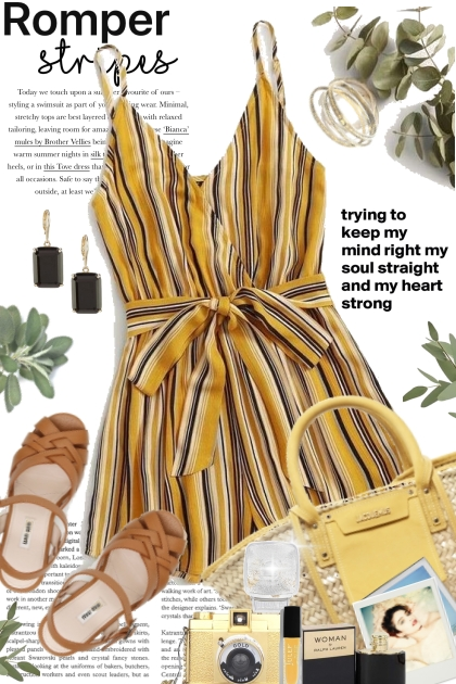 Romper Stripe Trends
