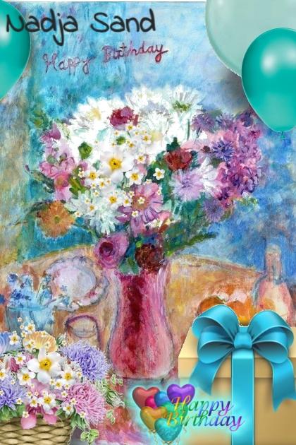 Nadja Sand Happy Birthday