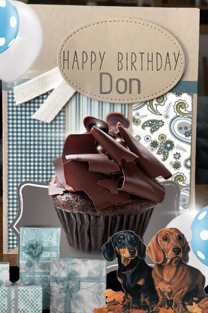 Happy Birthday to Don