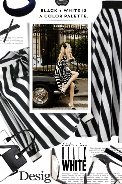 Black and White is a Color Palette