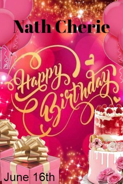 Happy Birthday Nath Cherie