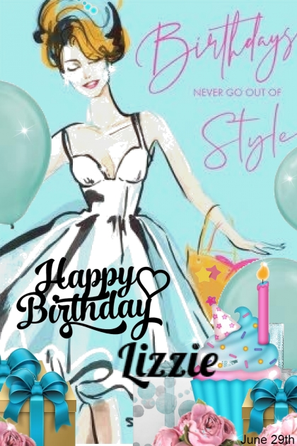 Happy Birthday Lizzie