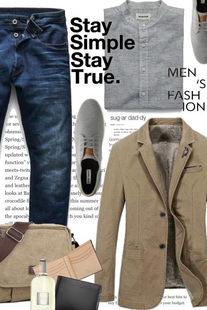 Stay Simple Mens Fashion