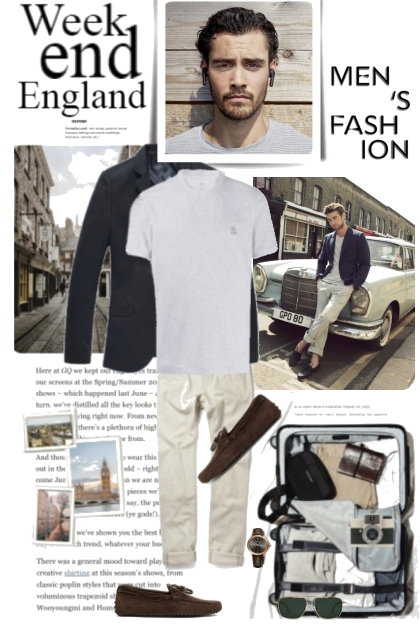 Mens Fashions For England