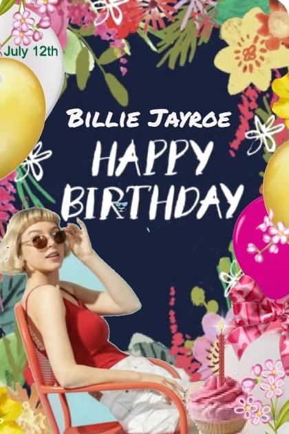 Billie Happy Birthday