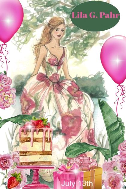 Happy Birthday Lila G. Pahr