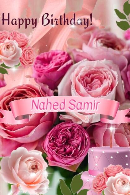 Happy Birthday Nahed