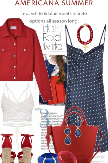 Red White and Blue Trends