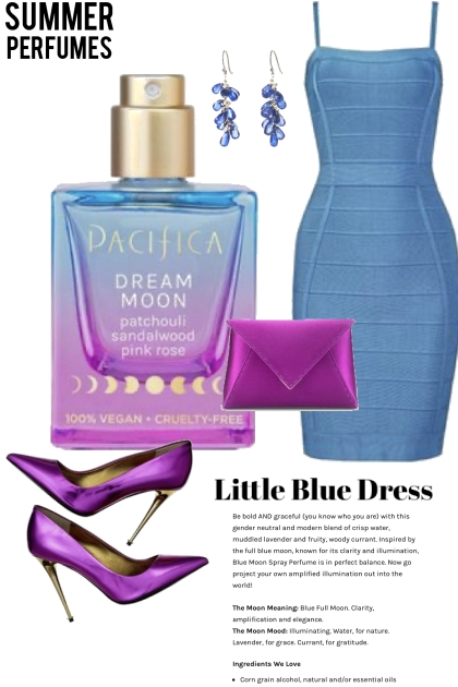 Pacifica and the Little Blue Dress