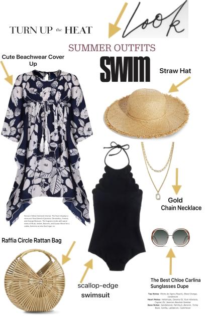 The Summer Swim Look