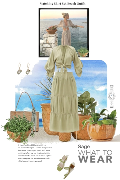 Sage it is What To Wear