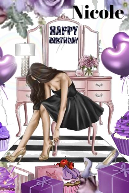 Happy Birthday Nicole Stephanie