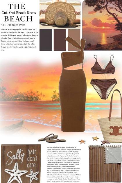 The Cut Out Beach Dress