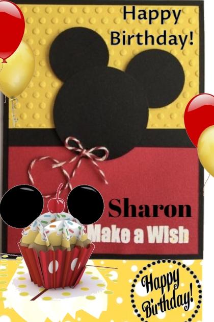 Happy Birthday to You Sharon