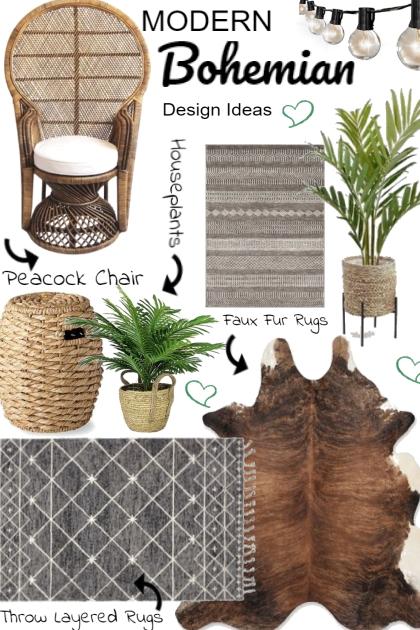 Modern Bohemian Design Ideas